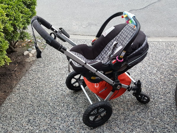 Verwonderend Used Bugaboo frog and graco click connect car seat for sale in RC-55