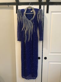 Evening beaded dress- Vintage Washington, 20011