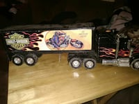 black Harley-Davidson Motorcycles freight truck scale model Ripley, 14775