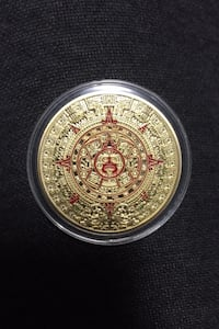 Mexican gold plated coin  Calgary, T3N 0V7