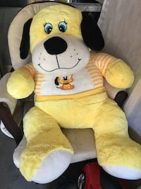 yellow dog plush toy Guelph, N1G 3G5