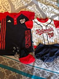 Washington Nationals 0-3 month outfits Falls Church, 22044