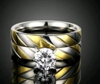 silver-colored and gold-colored ring Banning, 92220