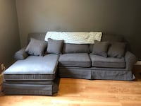 Couch - charcoal