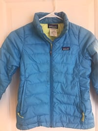 Girls size 8 blue down Patagonia jacket Ottsville, 18942