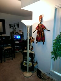 black and red floor lamp 19 mi