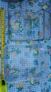 3 glass baking dishes  Edmonton, T5G 2A4