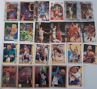 27 Basketball  Cards... $5 Firm For All  Cards. Calgary