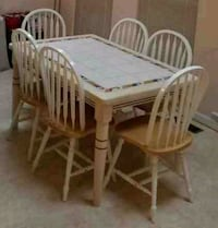 Ding Table & 6 Chairs Clarksburg