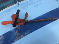 red and black hedge trimmer Greenwood, 72936