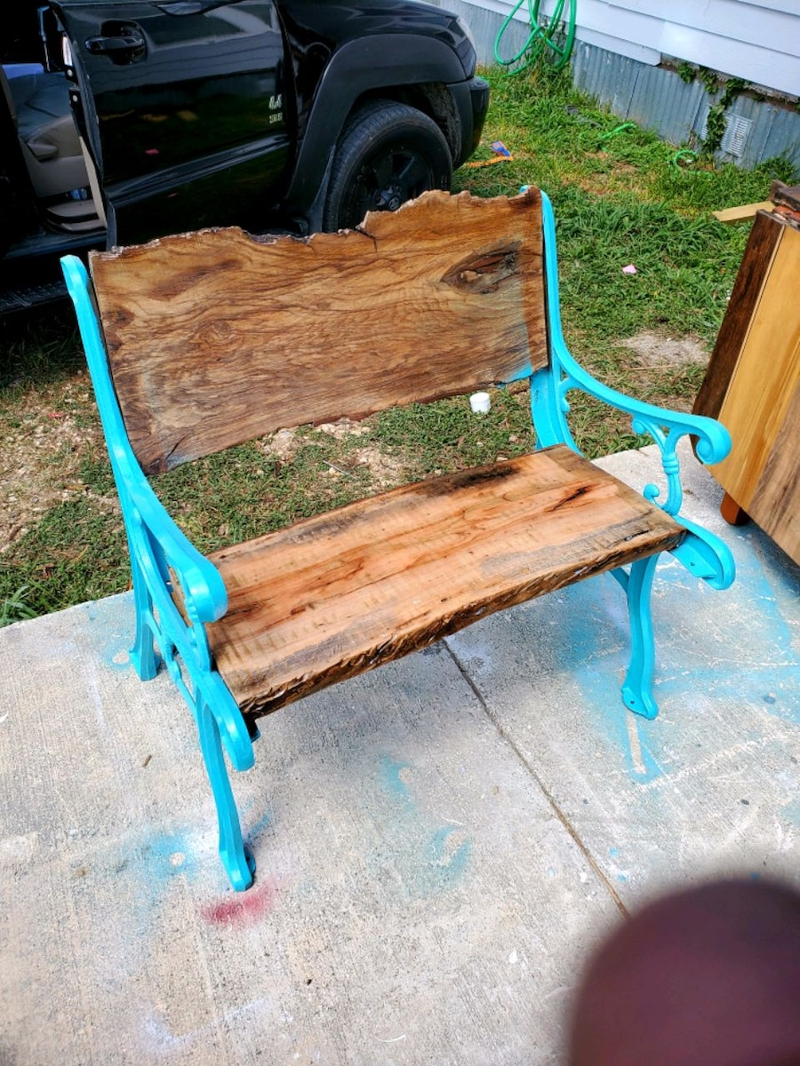 Photo Mesquite two-seater bench