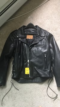Black Leather Jacket Concord, 03301