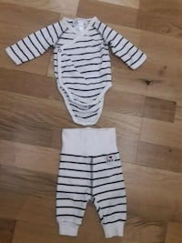white and black striped long-sleeved shirt and pants Greater London, N17 0JN