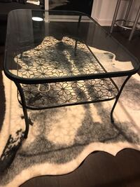 Flower Glass Coffee Table
