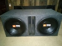 12 inch JBL speakers and box Denison, 75021