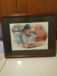 Dale Earnhardt and his son Dale jr. Louisville, 40258
