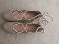 pair of brown leather ankle strap sandals Arlington, 22204
