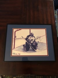 Autographed Patrick Roy picture—Framed. M North Charleston, 29405