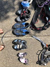 Rock climbing gear shoes and harnesses Tumwater, 98501