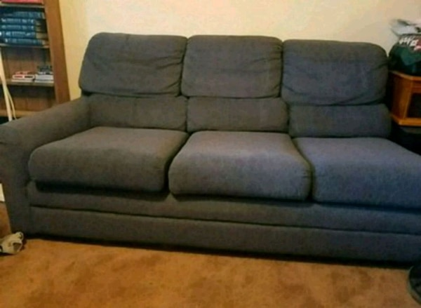 Used Blue Couch With Pullout Bed For Sale In Dallas Letgo