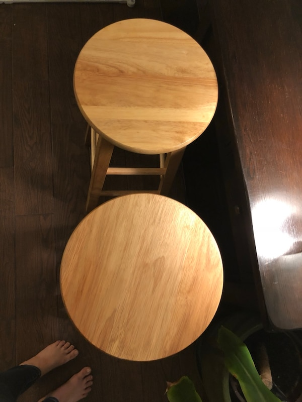 Awe Inspiring New Set Of Two Winsome Wood Pacey Stool 29 Ibusinesslaw Wood Chair Design Ideas Ibusinesslaworg