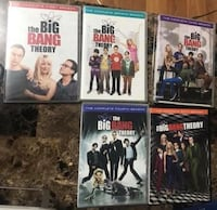 Big Bang theory seasons 1,2,3,4 and 6