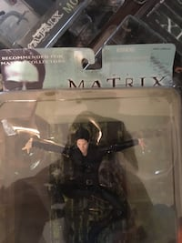 Matrix, Trinity action figure, no. 28021, WB 2000 Woodbridge, 22192