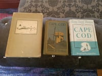 Henry David Thoreau's Cape Cod - 3 Editions  WOBURN