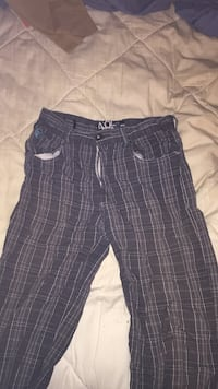 blue and gray plaid shorts London, N5V 1H9