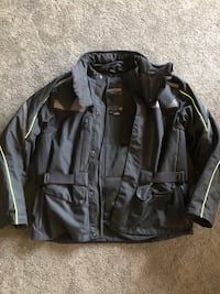 Men's XXL Triumph Winter riding jacket Gainesville, 20155