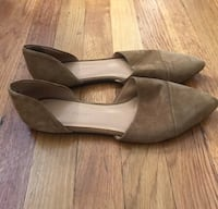 Jenni Kayne suede d'orsay flats. Size 40 New York, 10075