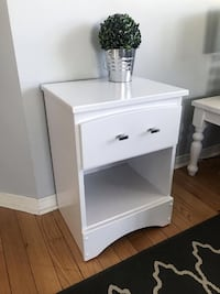 Newly refinished night stand /side table