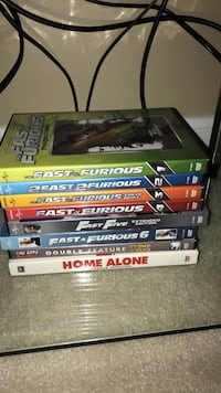 Fast and furious 1-6 you got served and home alone set