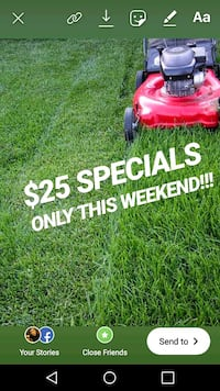 $25 $25 $25 lawn care services!!!! Anne Arundel County