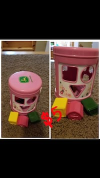 pink shape sorter collage Monticello, 31064