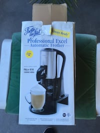 Froth Au Lait Professional Excel Automatic Hot Milk Frother Toronto, M6J 3P1