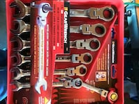 chrome combination wrench set St. Peters