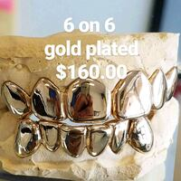 gold plated grillz special  Temple Terrace, 33617