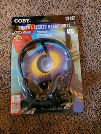 Coby Digital Stereo Headphones