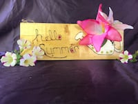 floral Hello Summer signage New Franklin, 44216