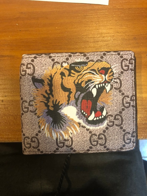 26ebbfc6f97a Used Gucci tiger wallet for sale in Toronto - letgo
