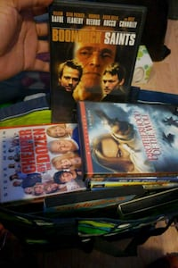 Assorted DVD Movies 5 count Chicago, 60609