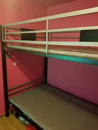 Twin over Twin medal bunk bed