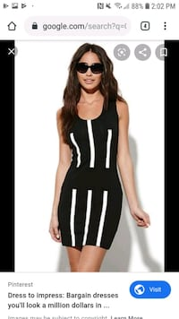 CHEAP MONDAY - walk the line dress - Toronto, M8Y 0A7