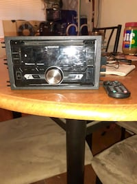 Kenwood car stereo with a Boss amp 1100 Watts Amp