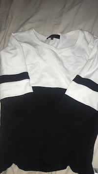 black and white sweater ACX ATHLETICS Winnipeg, R3M 1A4