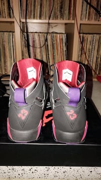 Pair of black-and-pink nike basketball shoes Smyrna, 30080