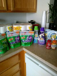 assorted household cleaning products lot Fredericksburg, 22407