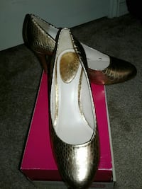 Studio of Paolo women's Golden shoes