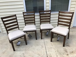 NEW, Set of 4 Flynnter Dining Upholstered Side Chair Brown - by Ashley